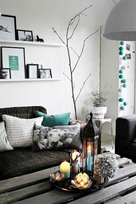 Dekoration wohnzimmer modern