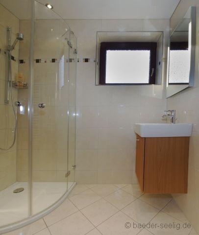 Kleines bad renovieren mit dusche