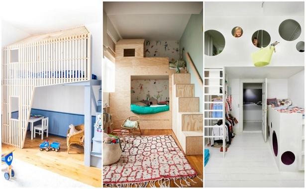 Kinderzimmer hochbett ideen for Zimmer umgestalten ideen