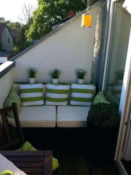 Lounge möbel kleiner balkon