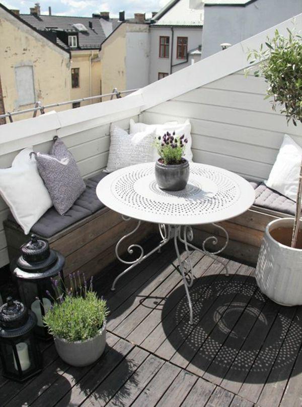 Sitzecke für kleinen balkon