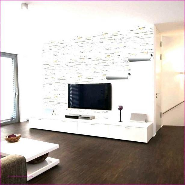Wohnzimmer Wand Streichen Muster