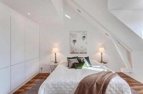 Einrichtungsideen schlafzimmer mit dachschräge
