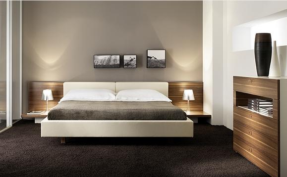 schlafzimmer modern streichen