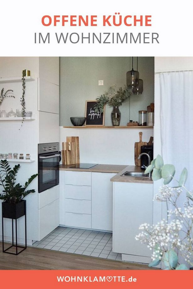 Kleine offene küche gestalten