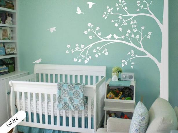 babyzimmer wandgestaltung malen