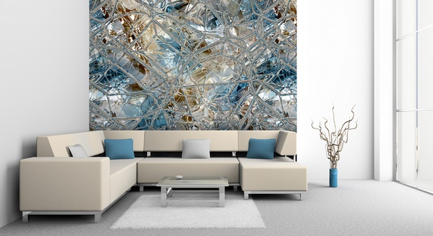 Gestaltung wohnzimmer wand