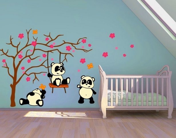 Kinderzimmer wanddekoration