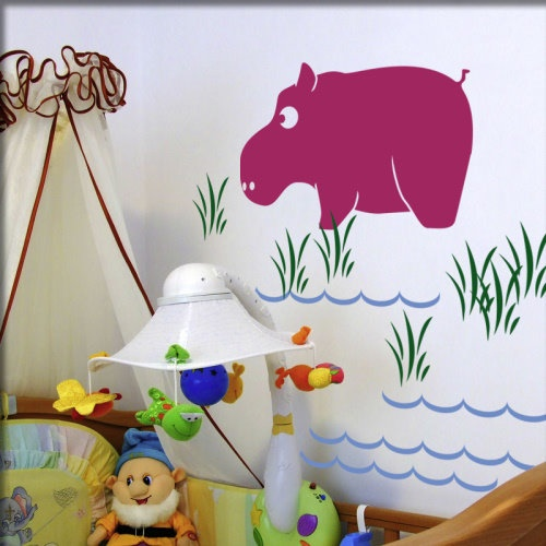 Wandmotive babyzimmer