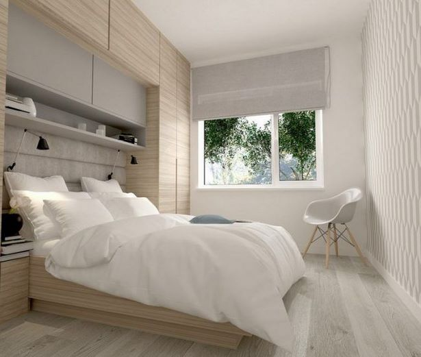 Schlafzimmer Helles Holz