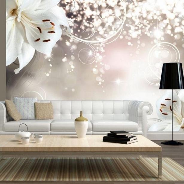 85 Wohnzimmer Tapeten Ideen: Raumgestaltung Tapeten Ideen