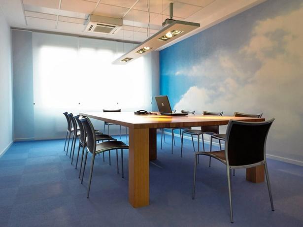 Wandgestaltung büro