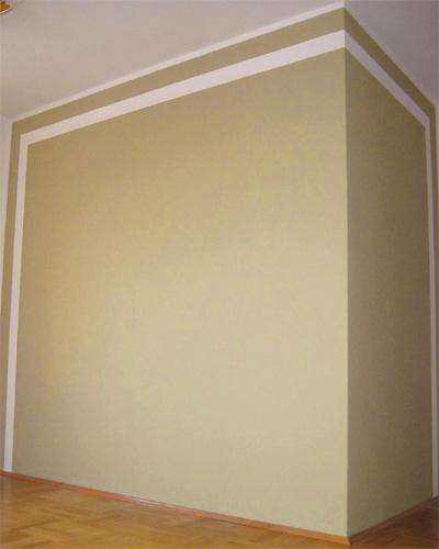 Wandfarbe Helles Blaugrau: Wandgestaltung Wohnzimmer Farbe