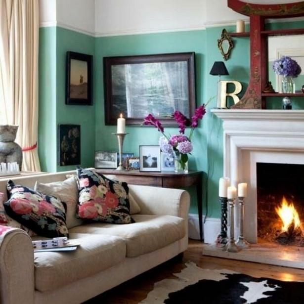 Wohnzimmer farben wände